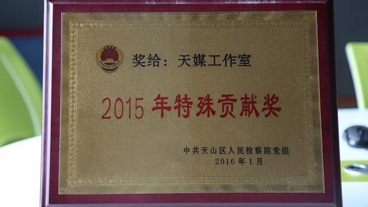 2015年特殊贡献奖